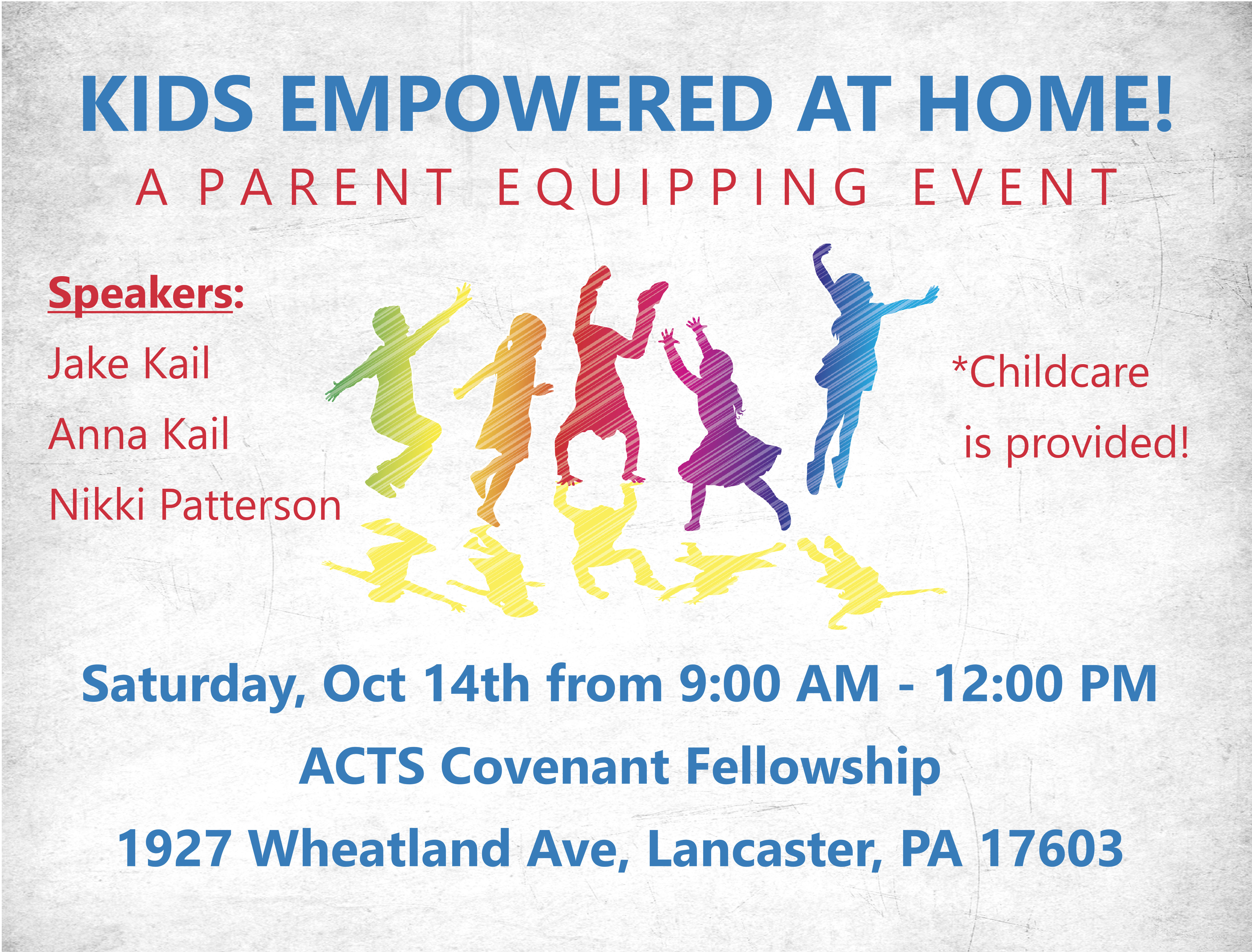Kids Empowered at Home: A Parent Equipping Event!