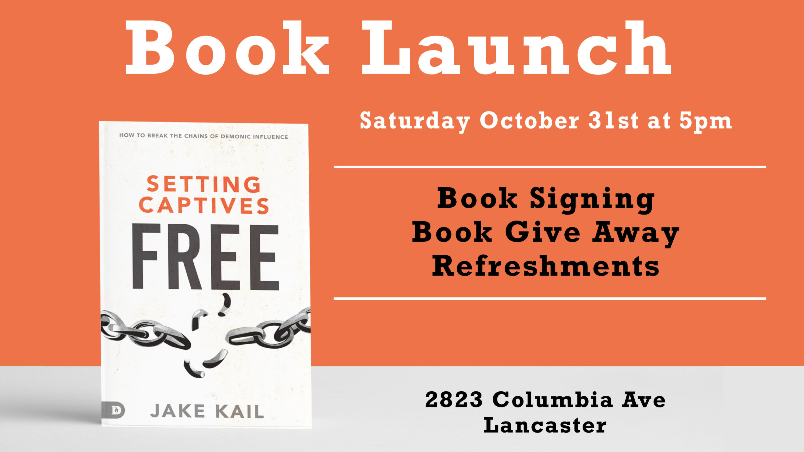 Sign Up for the Book Launch and Meet & Greet!