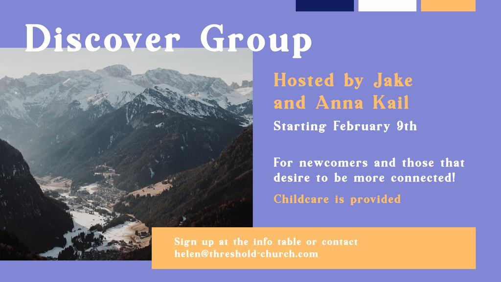 Next Discover Group Starting February  9th!